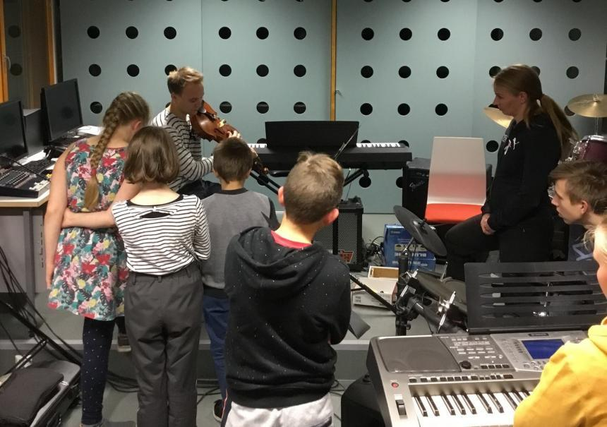 Musiikkiopiston fermaattiviikoilla tutustutaan musiikkiteknologiaan