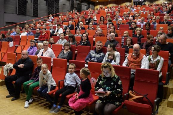 kankaanpääsalin yleisöä