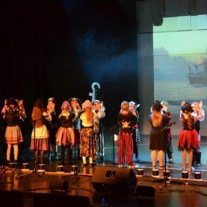 Musiikkipainotteisten luokkien 20 v. juhla Kankaanpääsalissa