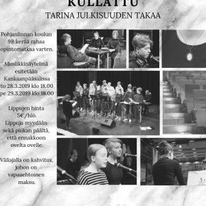 Musiikkinäytelmä: Kullattu – tarina julkisuuden takaa