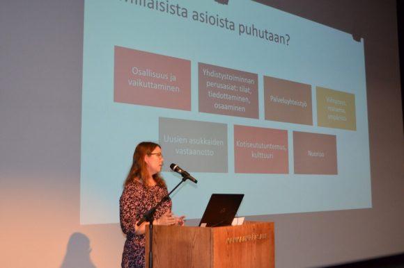 Hankekoordinaattori Hanna Ruohola, Satakylät ry