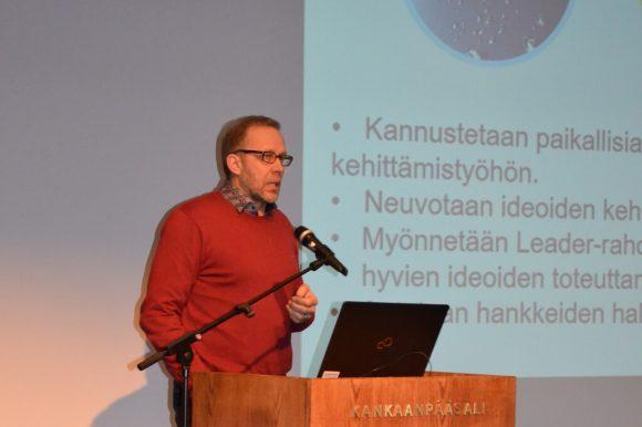 Toiminnanjohtaja Juha Vanhapaasto, Leader Pohjois-Satakunta