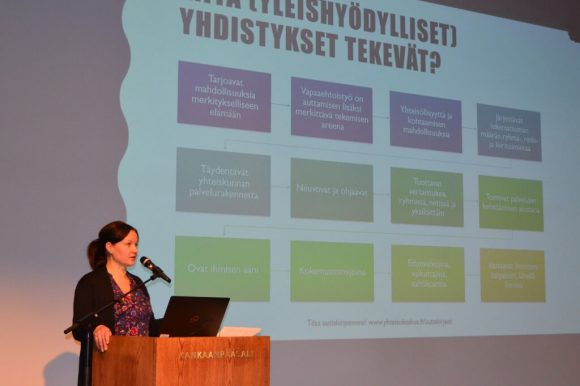 Toiminnanjohtaja Milja Karjalainen, Satakunnan Yhteisökeskus