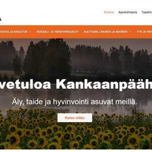 Kankaanpään kaupungin uudet verkkosivut käyttöön – vastaa palautekyselyyn