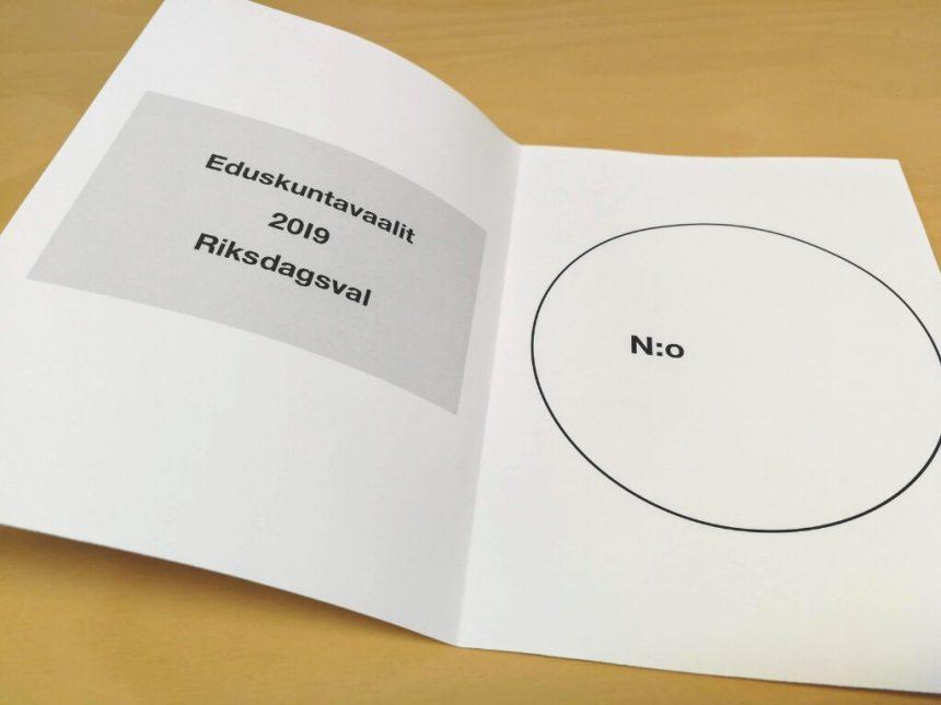 Eduskuntavaalien äänestyspaikat ja ennakkoäänestys