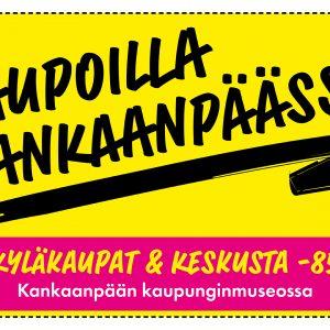 Kaupunginmuseon odotettu näyttely esittelee kauppaa Kankaanpäässä