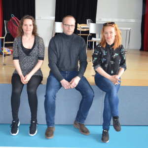 Lukuliike koulussa -kiertue vieraili Kankaanpäässä