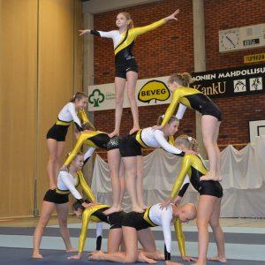 Akrobatiavoimistelun kilpailut