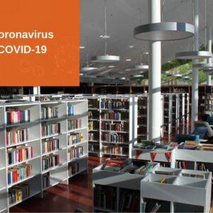 Kirjasto suljettu 13.5. asti – toimintaohjeet poikkeusolojen ajaksi