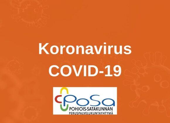 PoSa on asettanut 14 vrk:n mittaisen vierailukiellon PoSan alueen ympärivuorokautiseen hoivaan ja terveyskeskussairaalaan