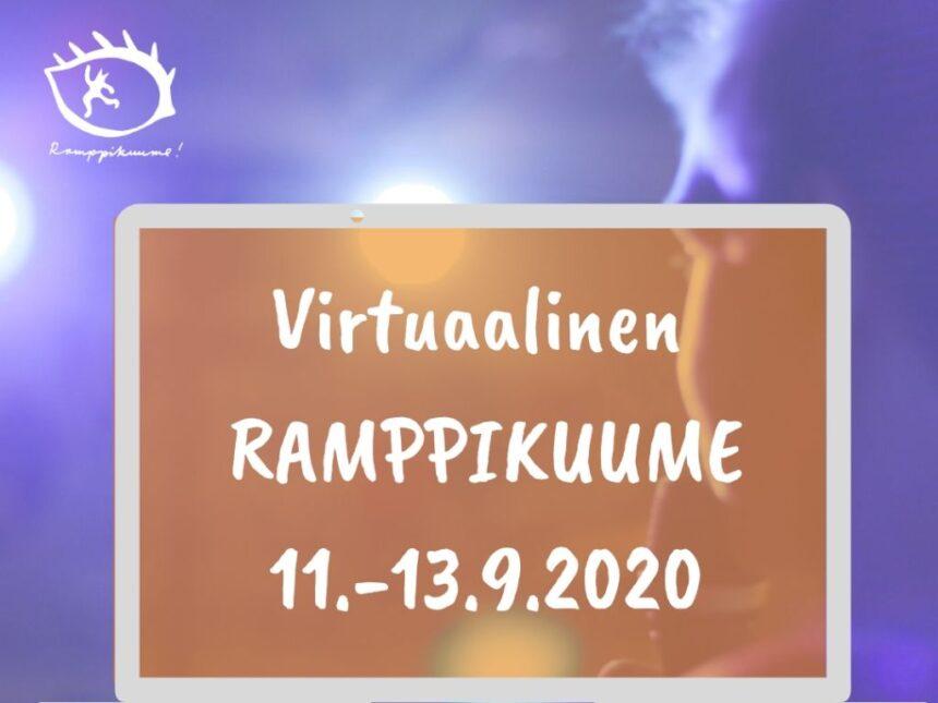 Ramppikuume – Valtakunnalliset Nuorisoteatteripäivät virtuaaliseksi festivaaliksi
