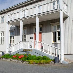 Aspin talo Kankaanpään Opistolla