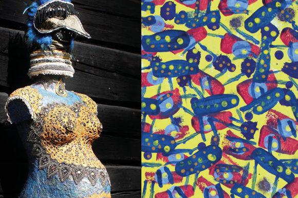 Outsider – taiteen kehällä -webinaari 27.10. sekä näyttely Kankaanpään galleriassa