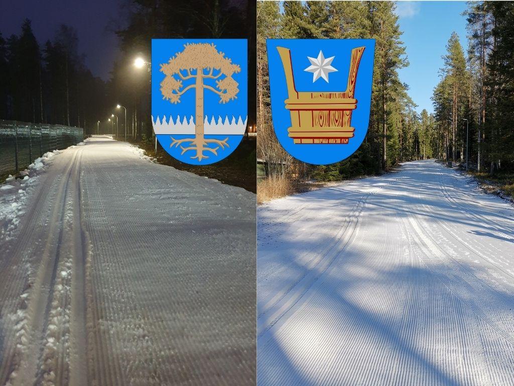 kuntaliitos Kankaanpään ja Honkajoen älyladut