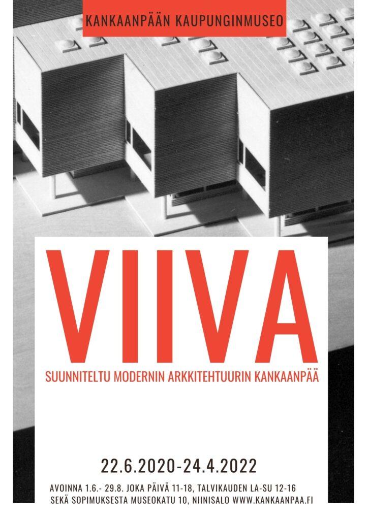 VIIVA-näyttelyn juliste
