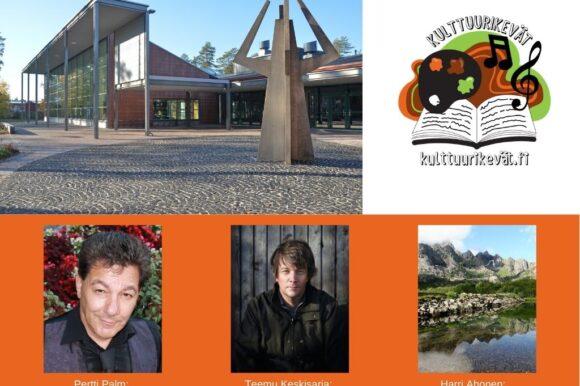 Kirjaston YouTube-tapahtumat huhtikuussa