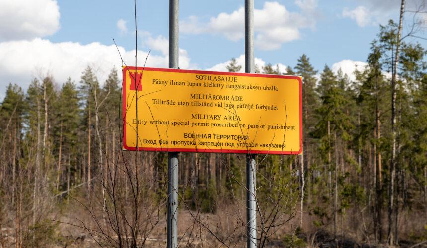 Tärkeä muistutus Puolustusvoimien alueella liikkumisesta, tarkennus Hämeenkankaan osalta