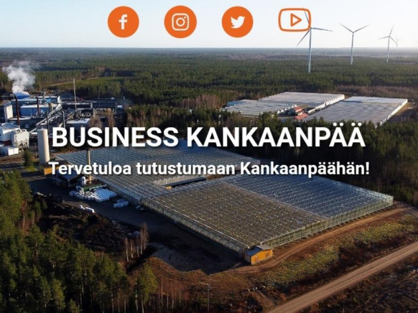 Business Kankaanpää -verkkosivut on julkaistu
