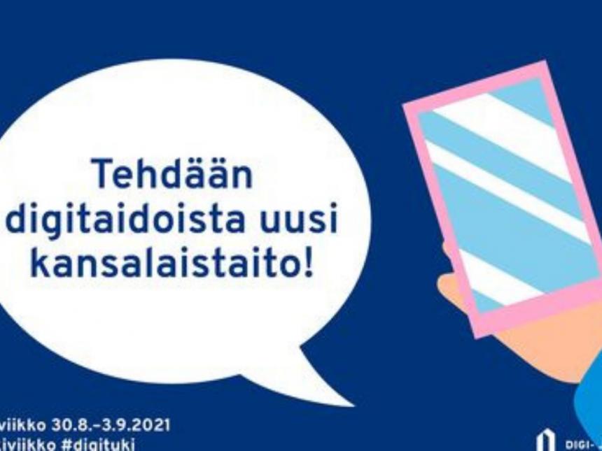 Digineuvontaa Kankaanpään ja Honkajoen kirjastoissa
